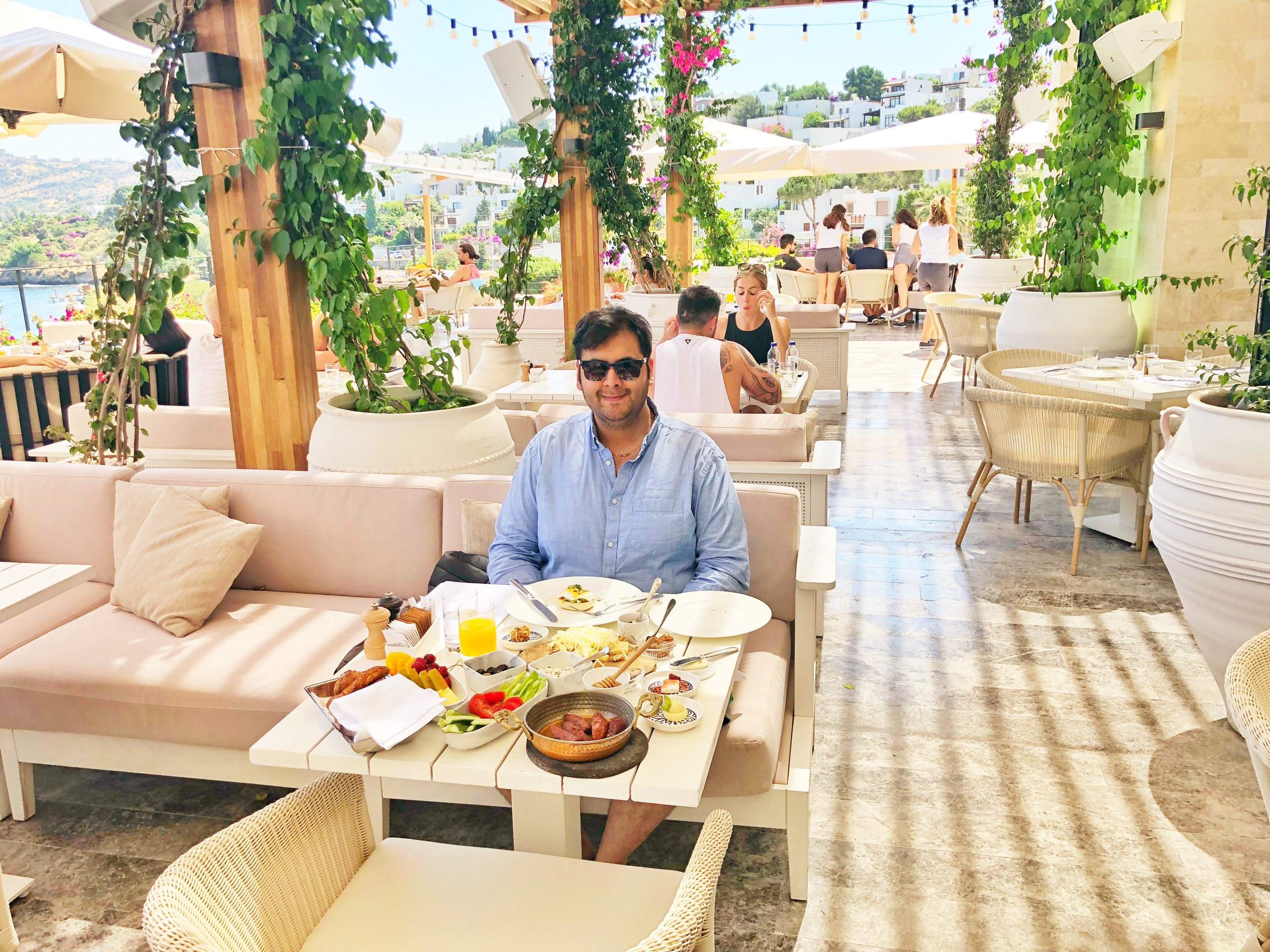 The Bodrum EDITION - Enjoying a Traditional Turkish Breakfast