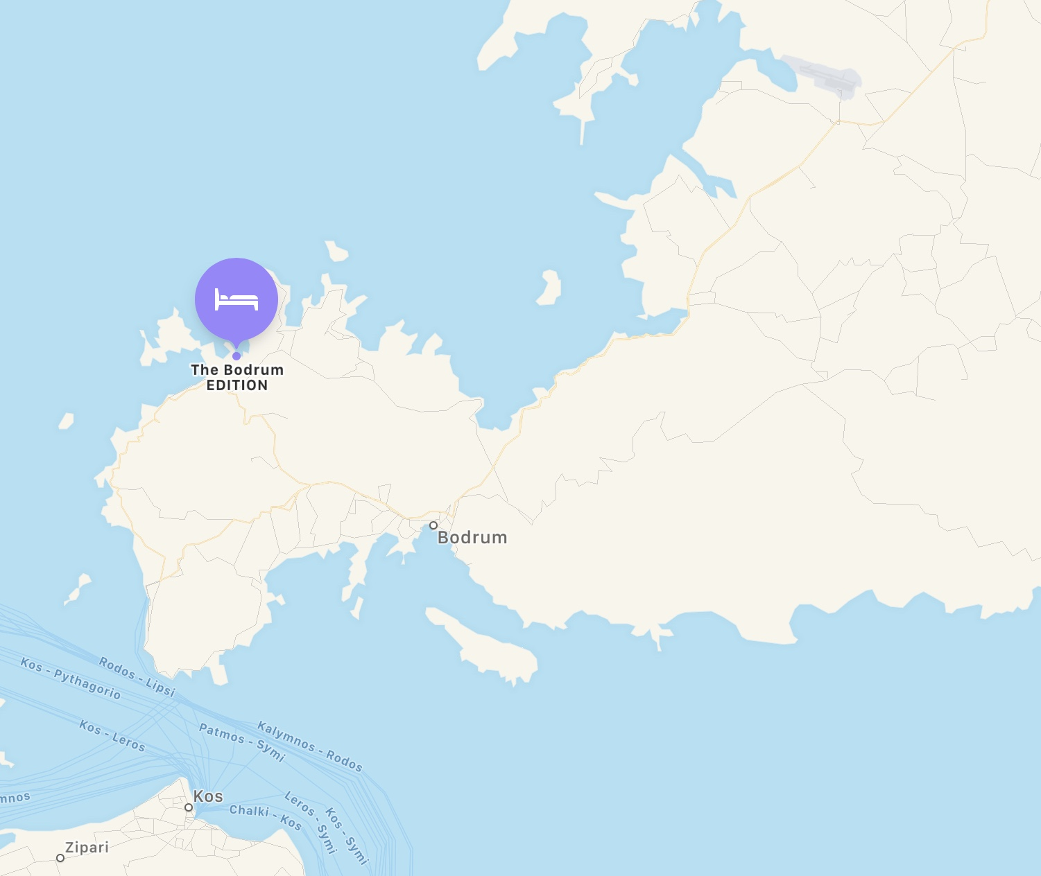 The Bodrum EDITION - Location