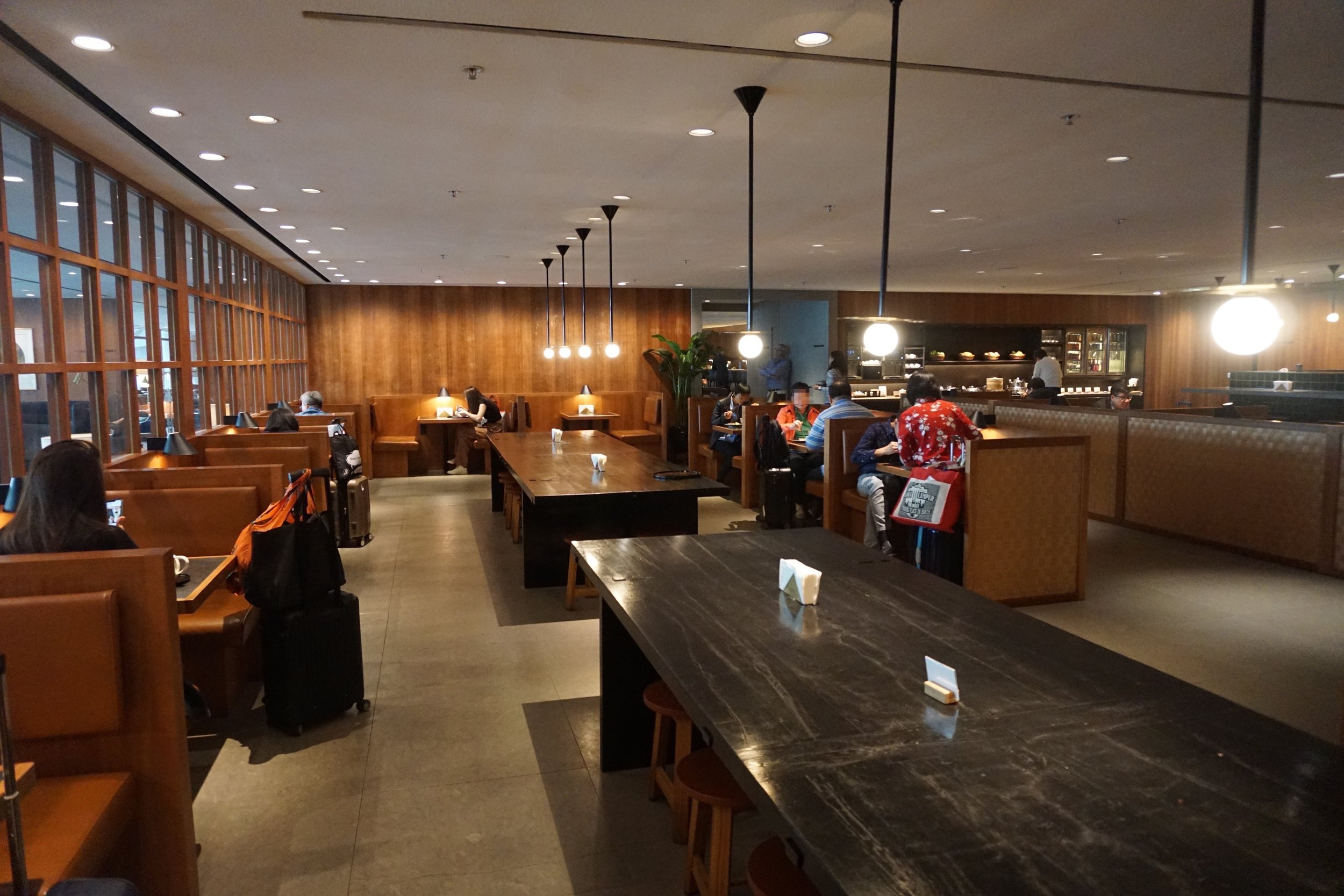 The Noodle Bar at the Pier Business Class Lounge