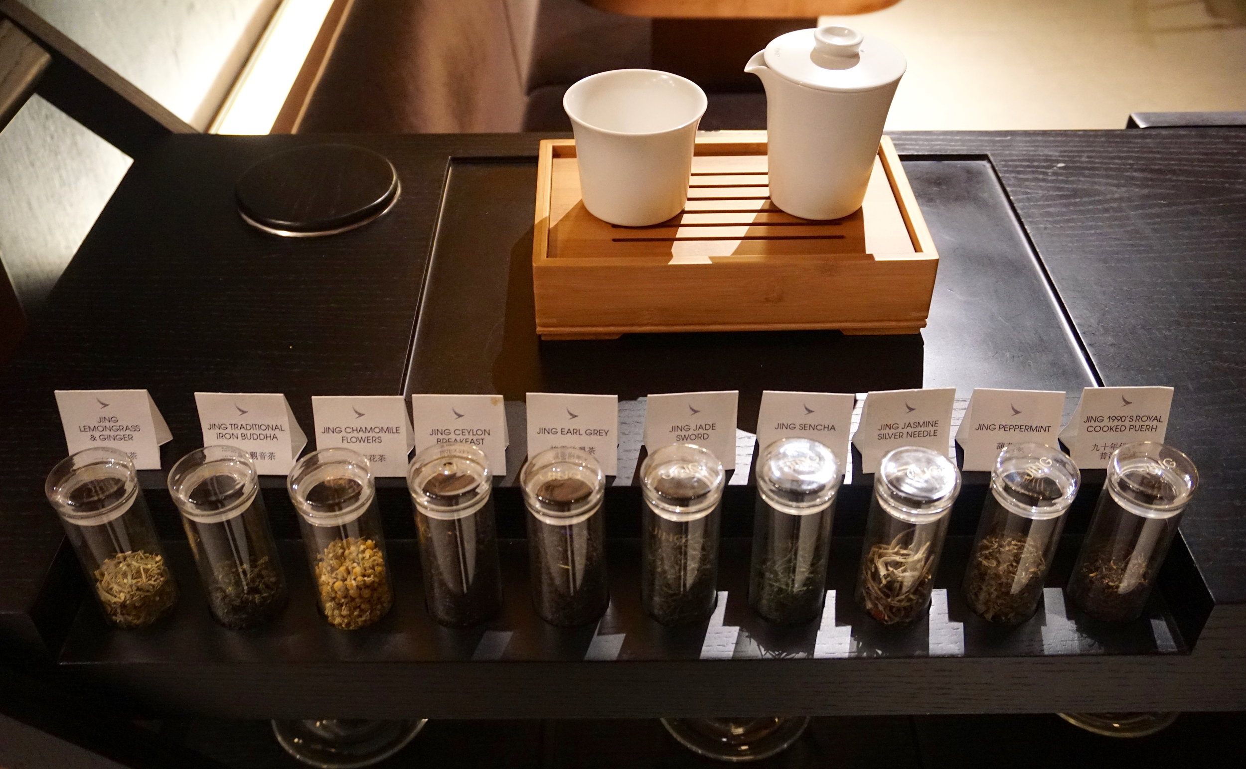 Wide variety of Jing tea selection
