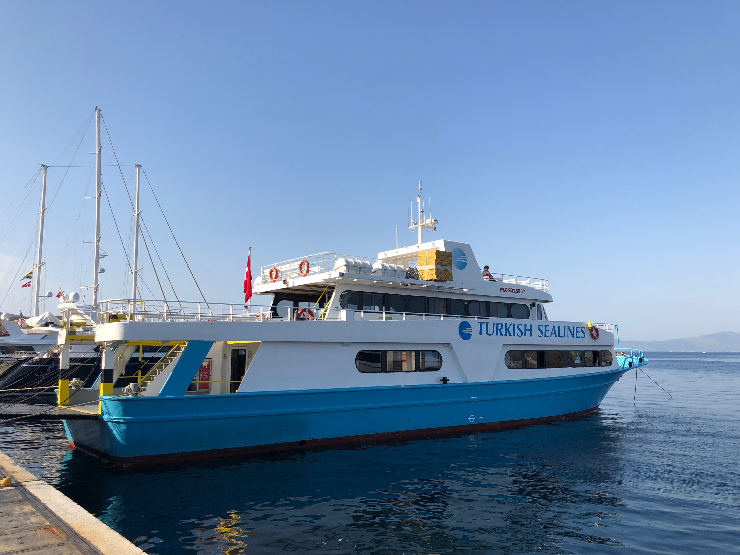 Ferry from Bodrum to Kos