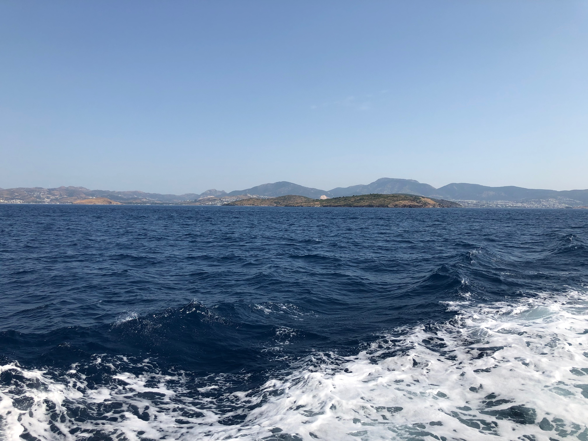 Views of Bodrum from the ferry