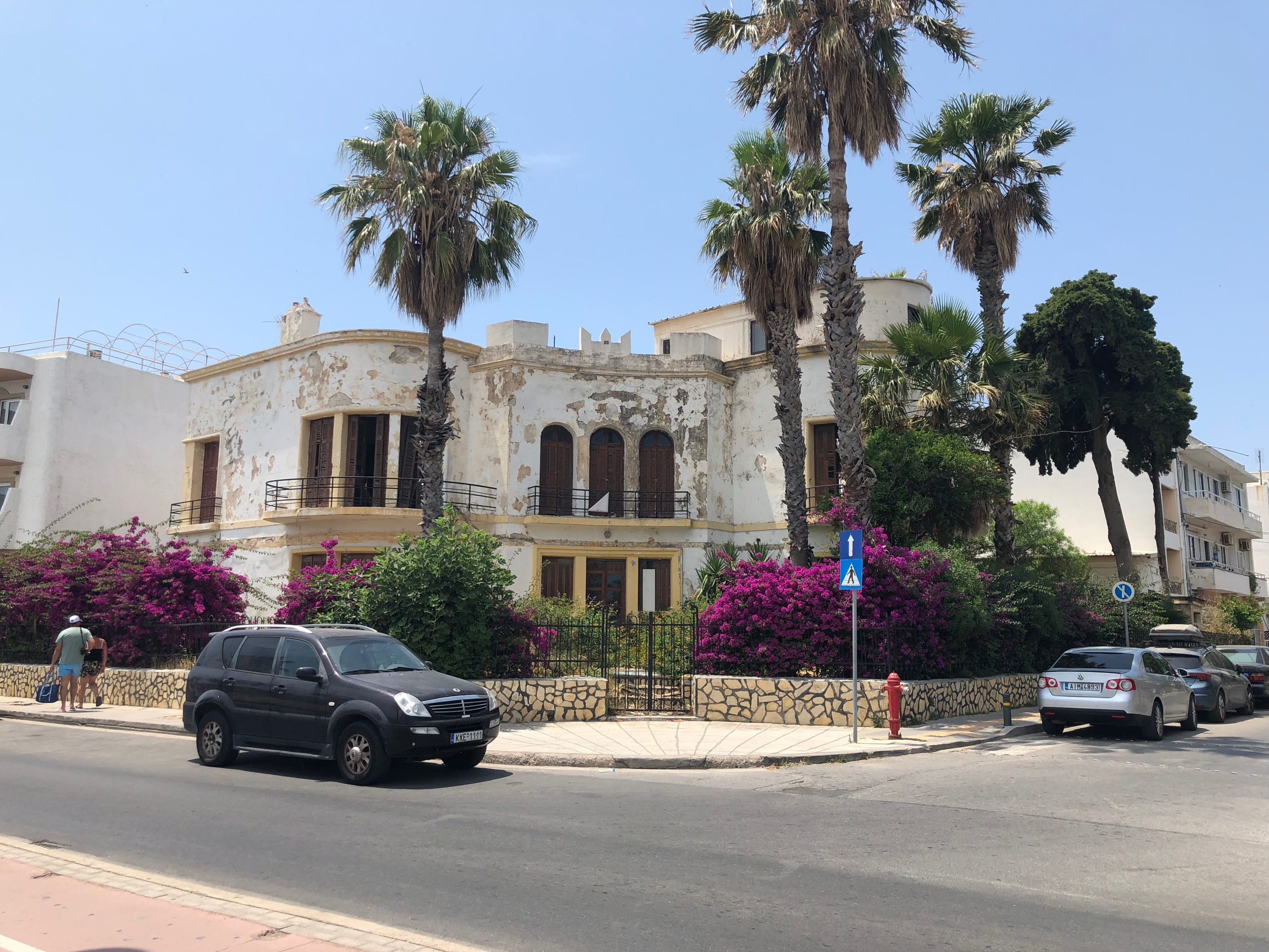 Abandoned house in Kos