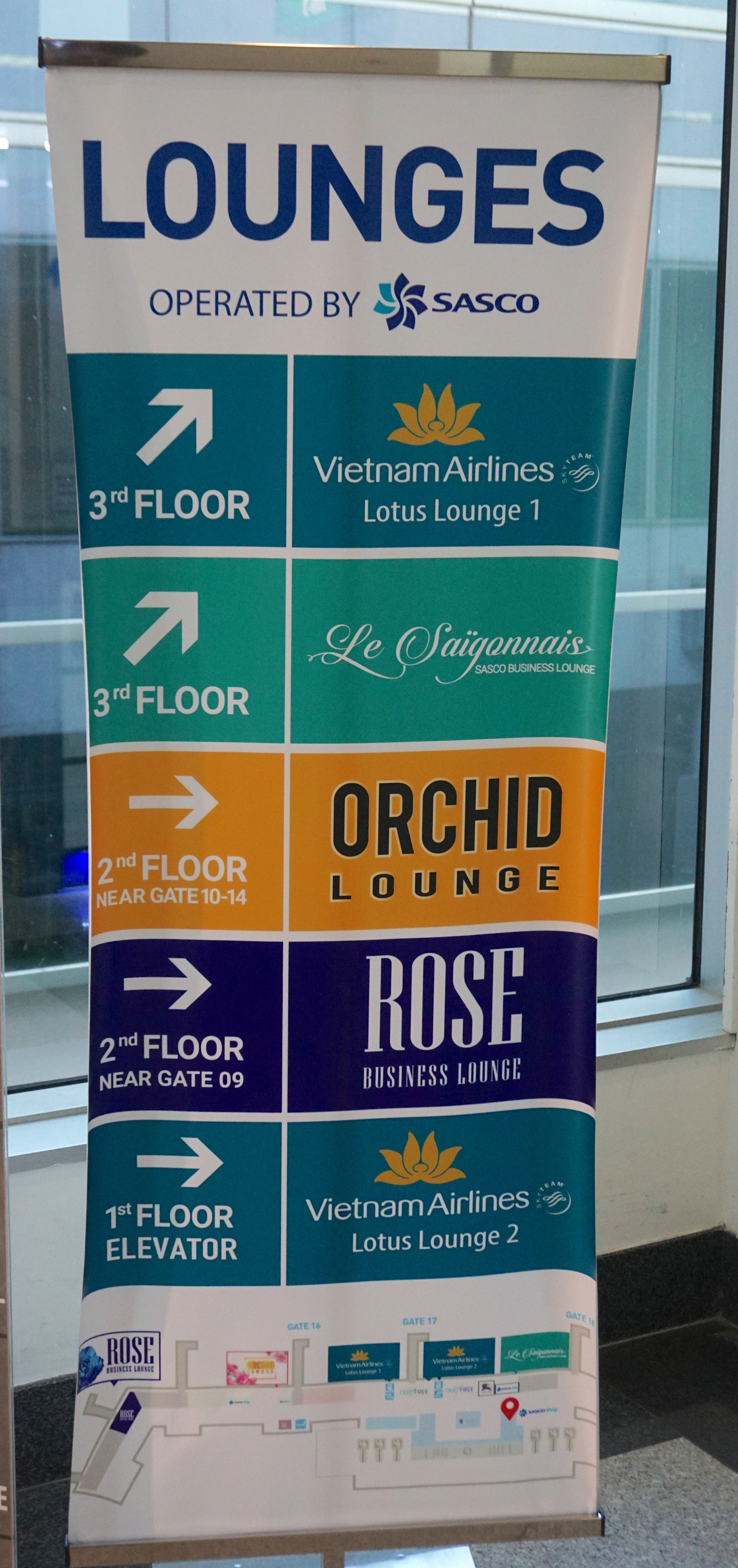 List of lounges in Tan Son Nhat International Airport