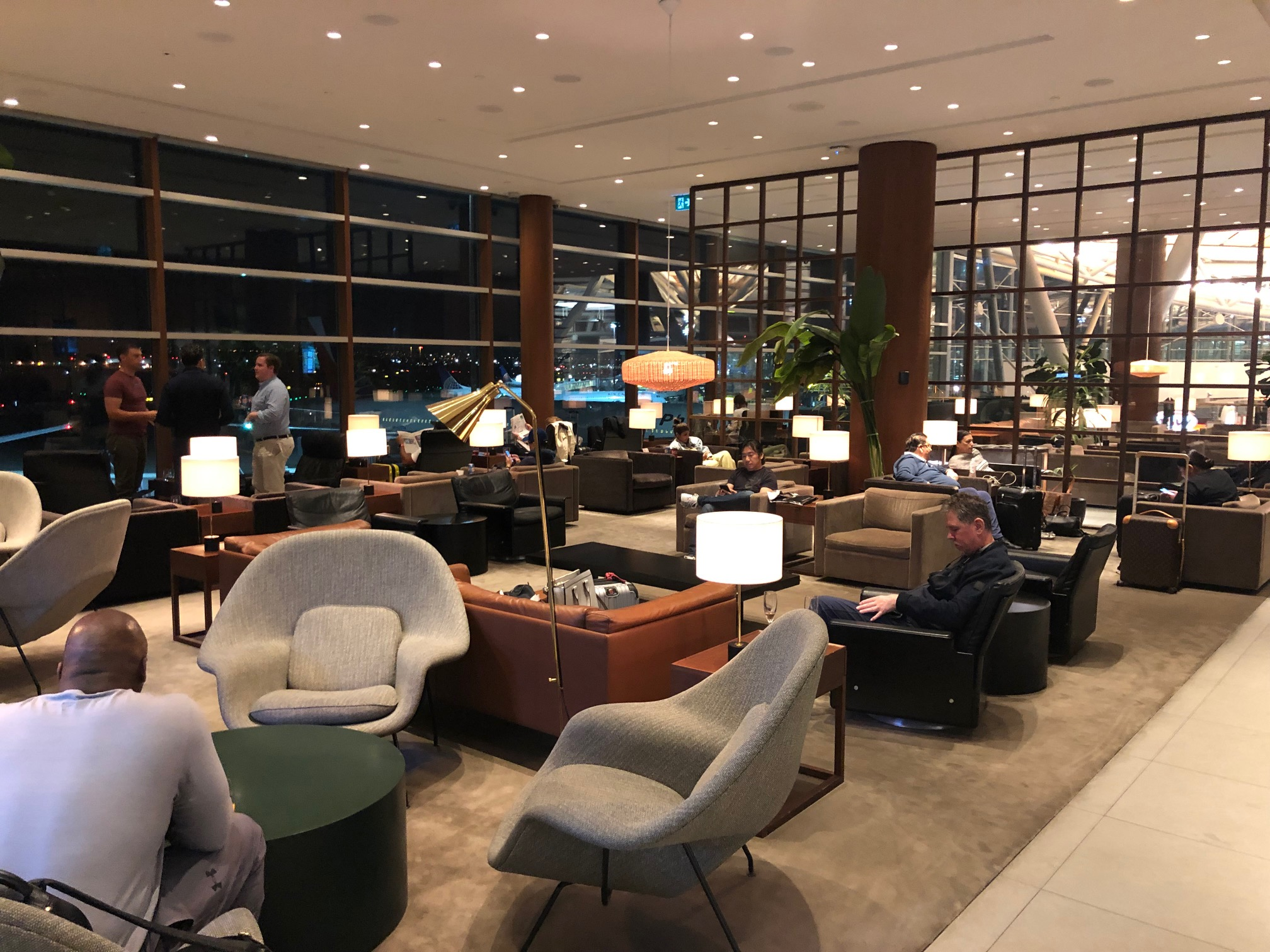 Cathay Pacific Lounge - Seating Area