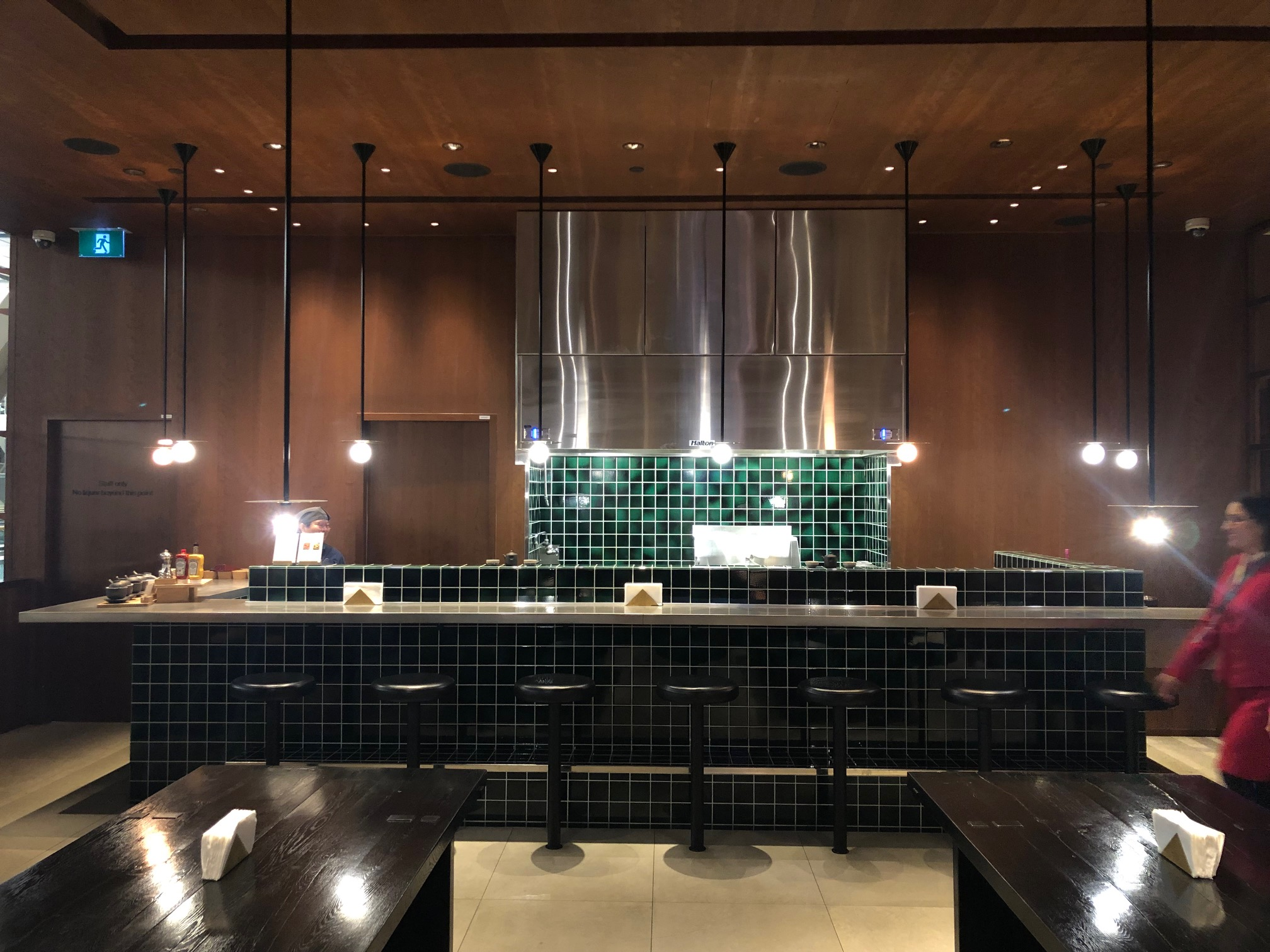 Cathay Pacific Lounge - Noodle Bar