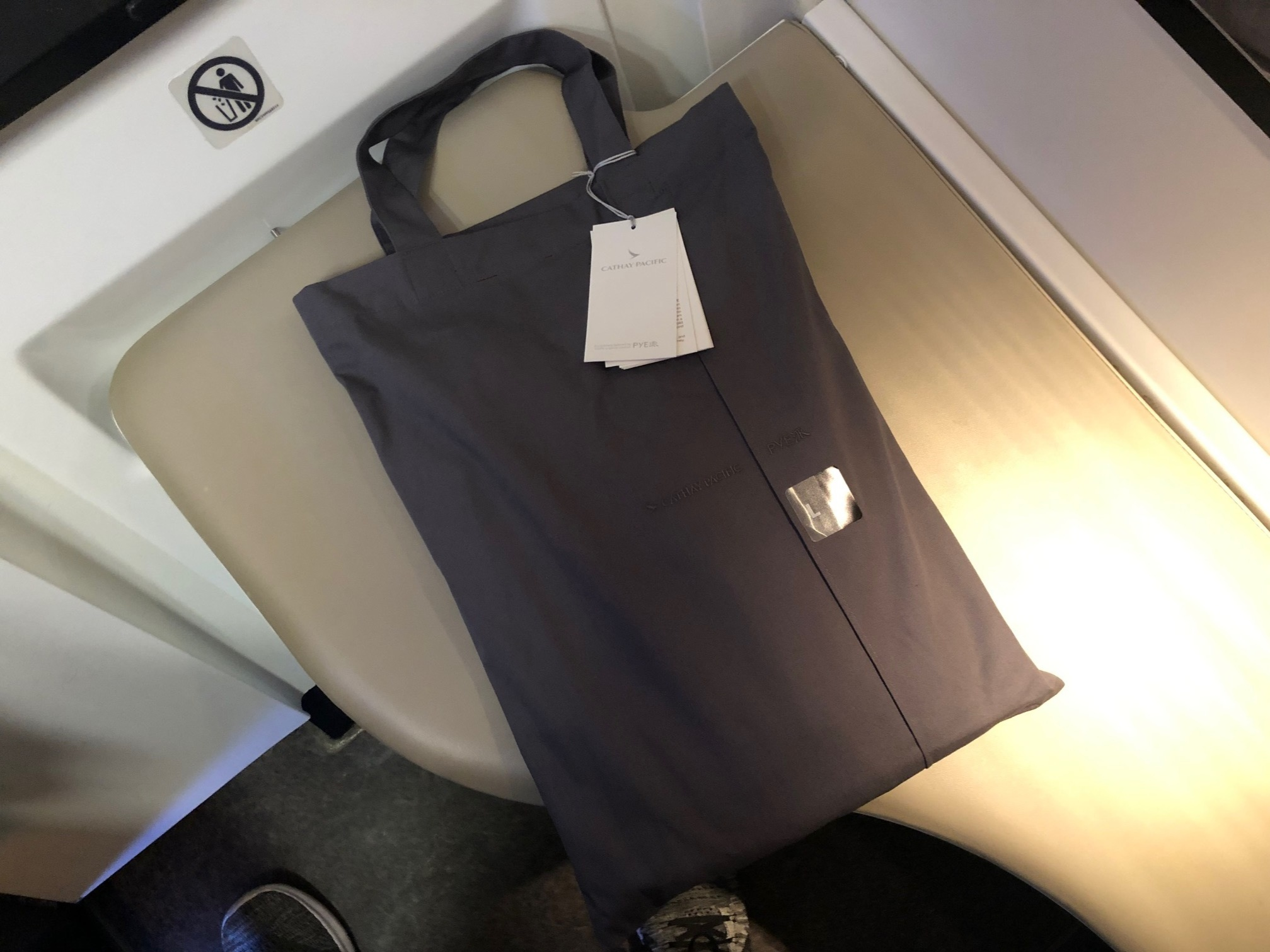 Cathay Pacific First Class - PYE Pyjamas