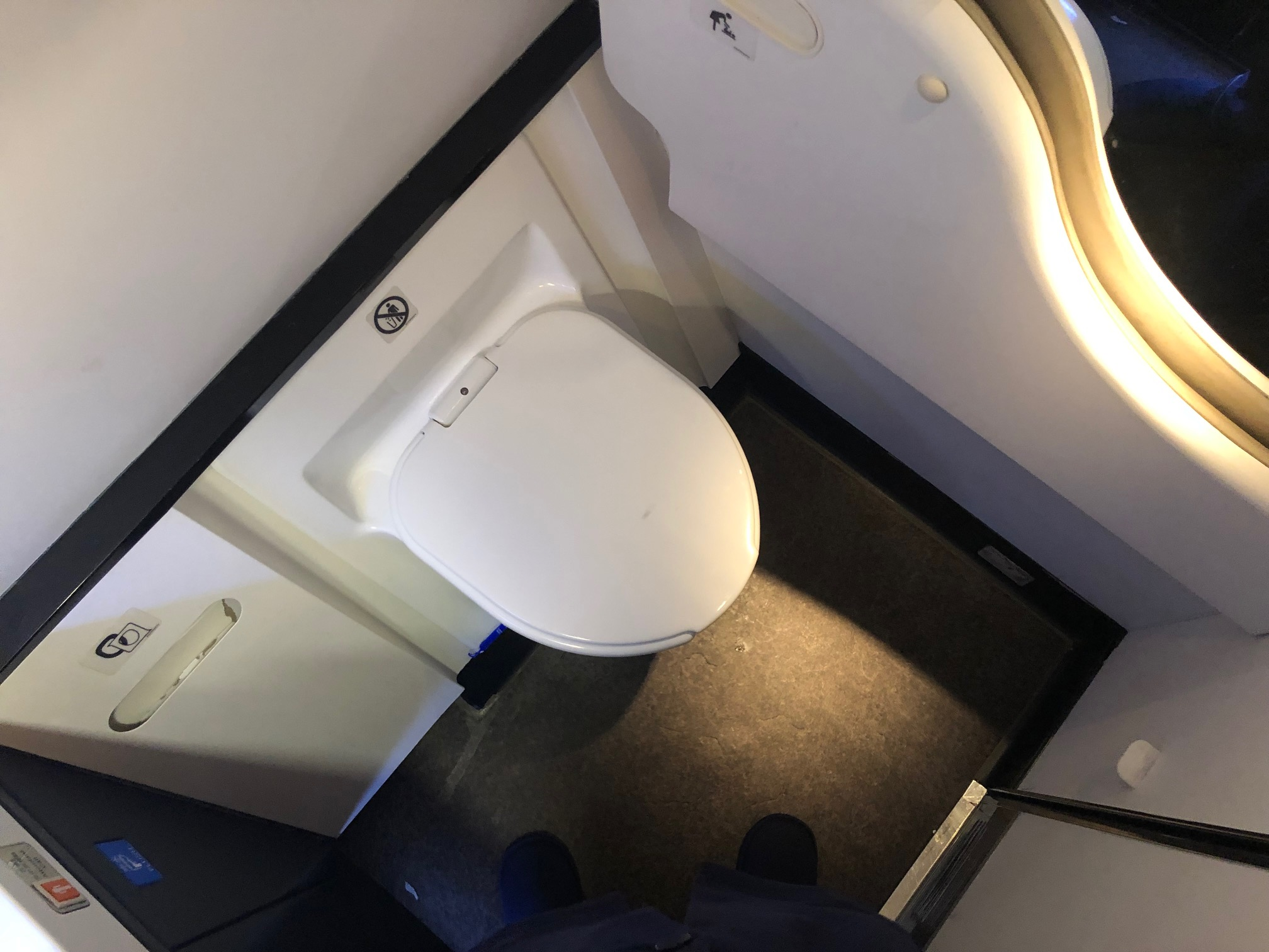 Cathay Pacific First Class - Lav
