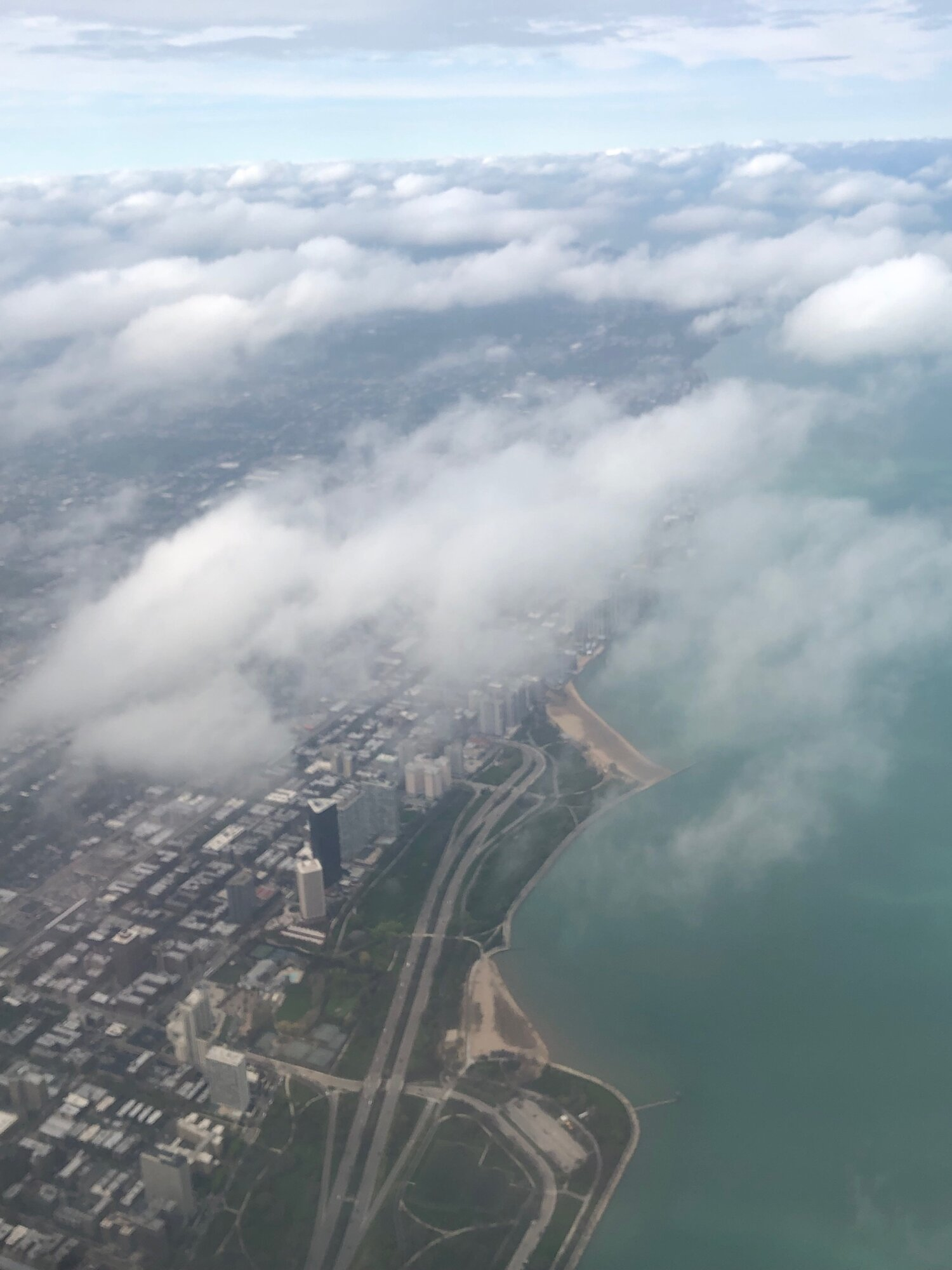 Arriving into Chicago