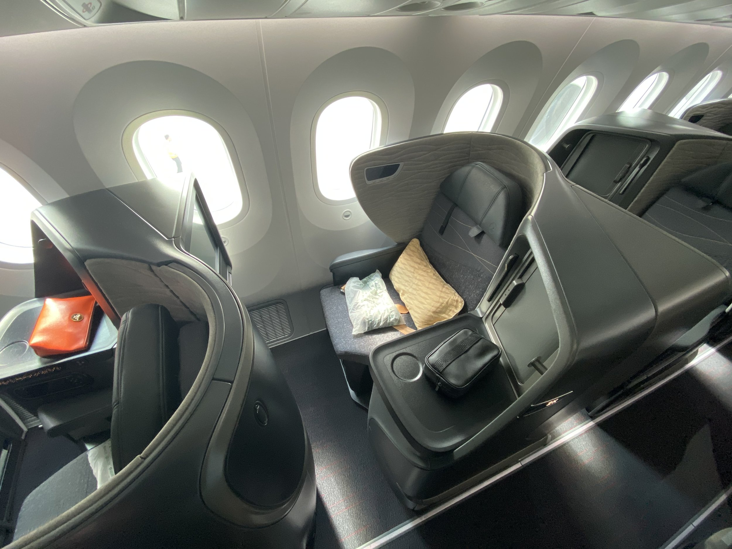 Turkish Airlines Boeing 787 New Business Class Seat