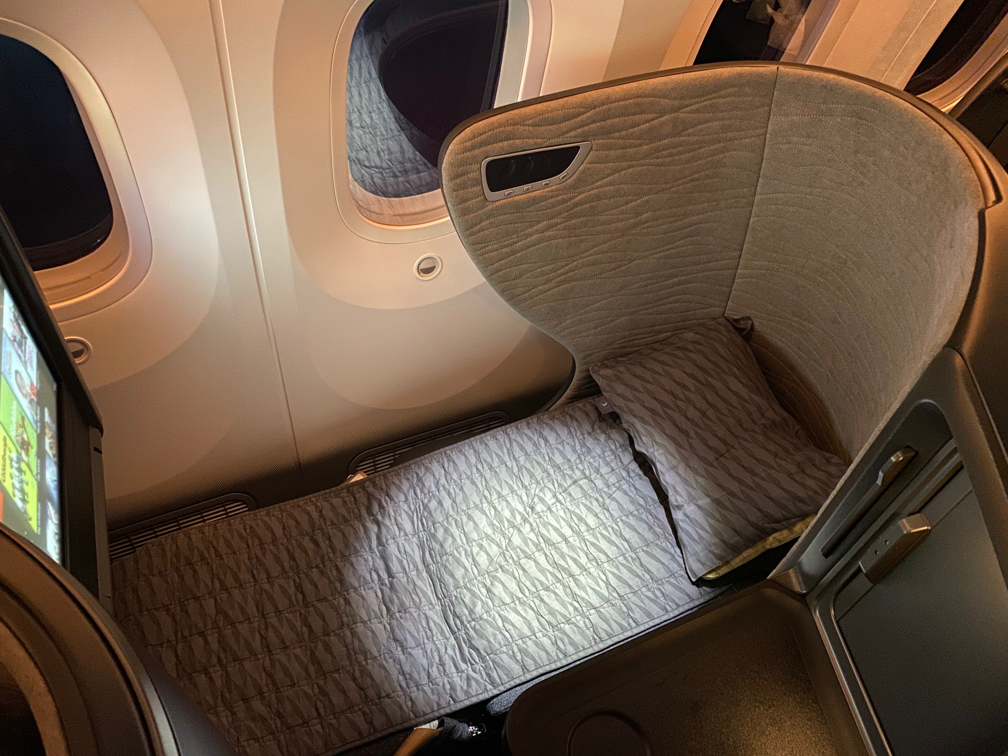 Turkish Airlines 787-9 Business Class Bed