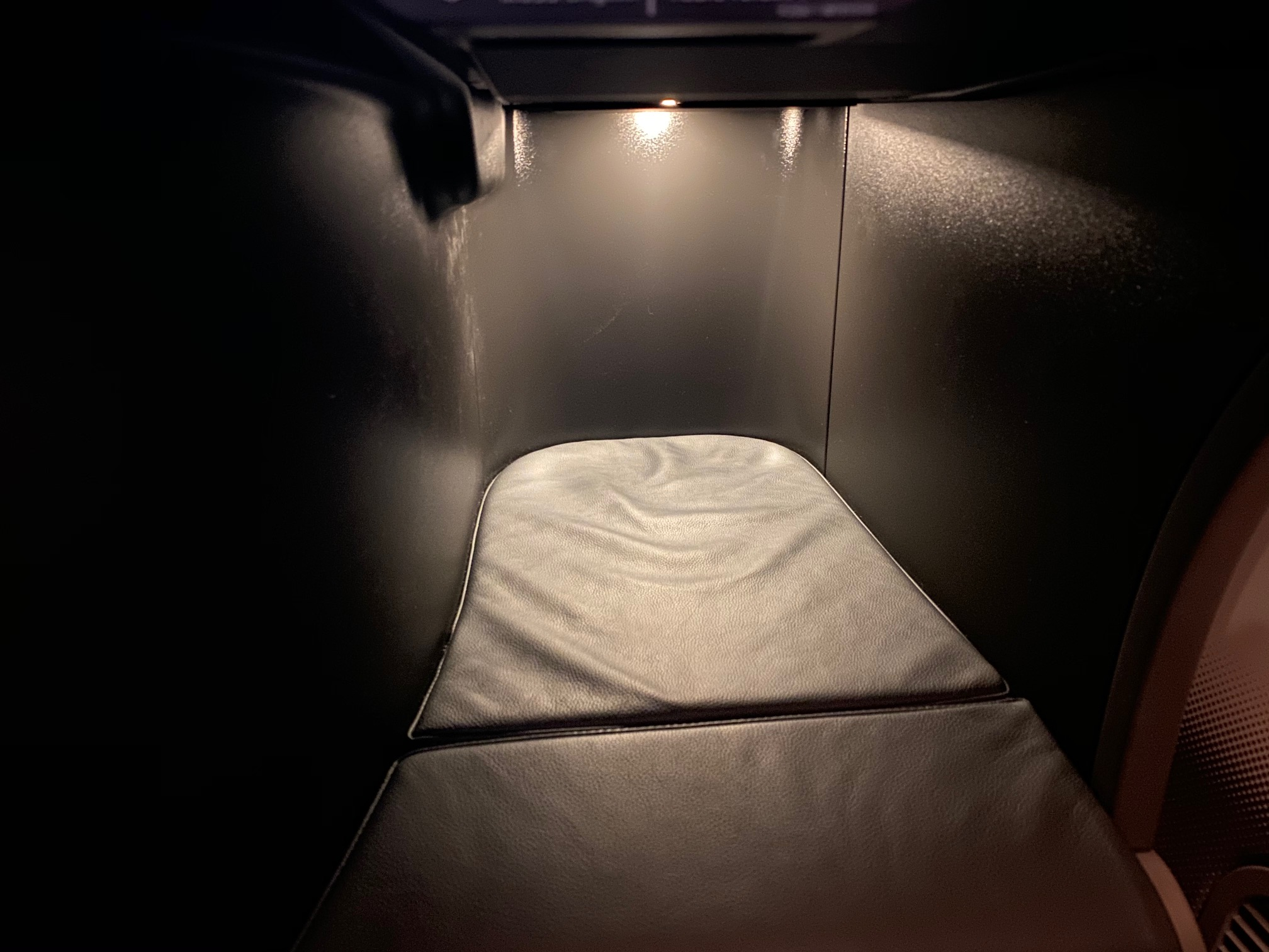 Turkish Airlines 787-9 Business Class Footwell