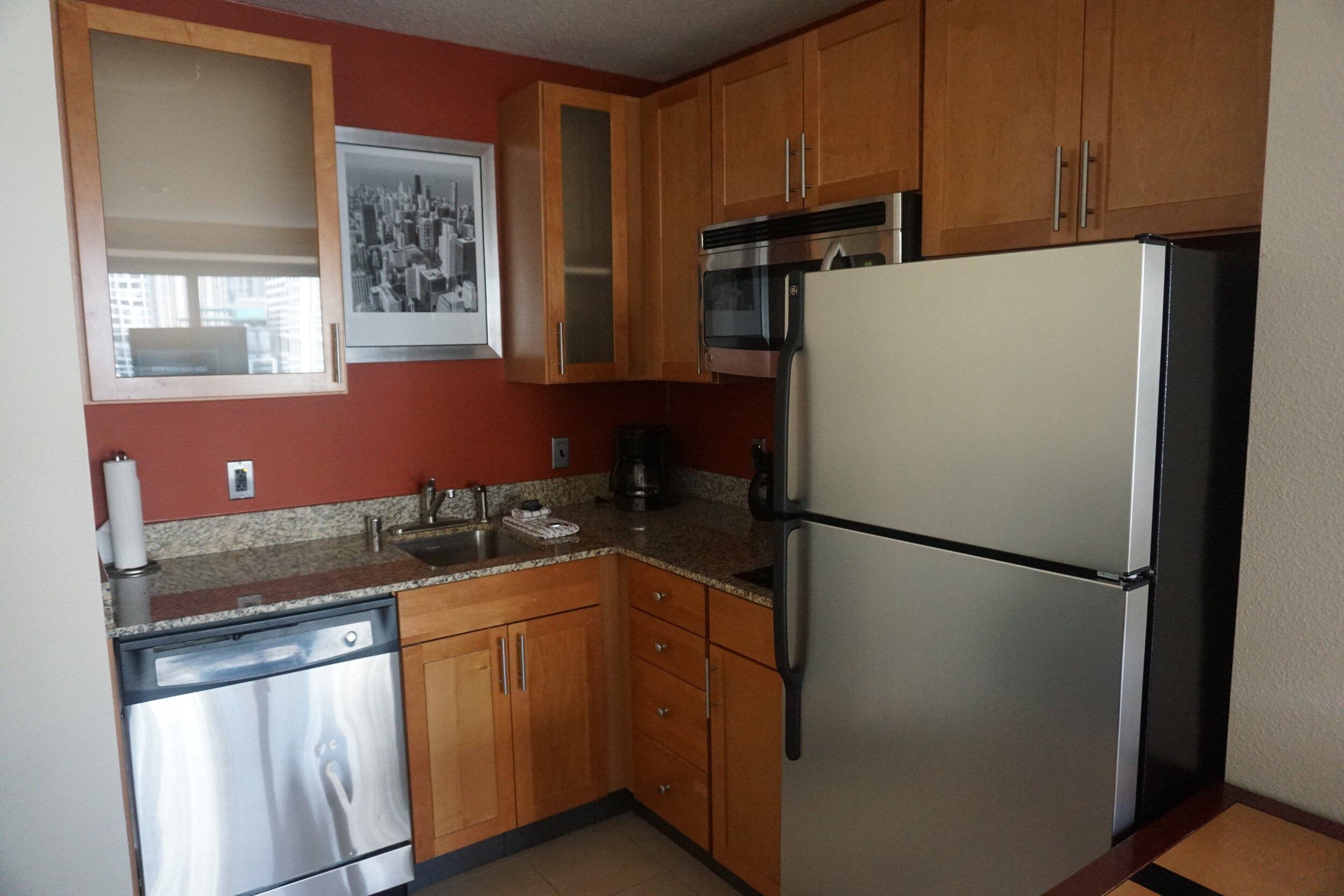 Fully equipped kitchen ideal for longer stay