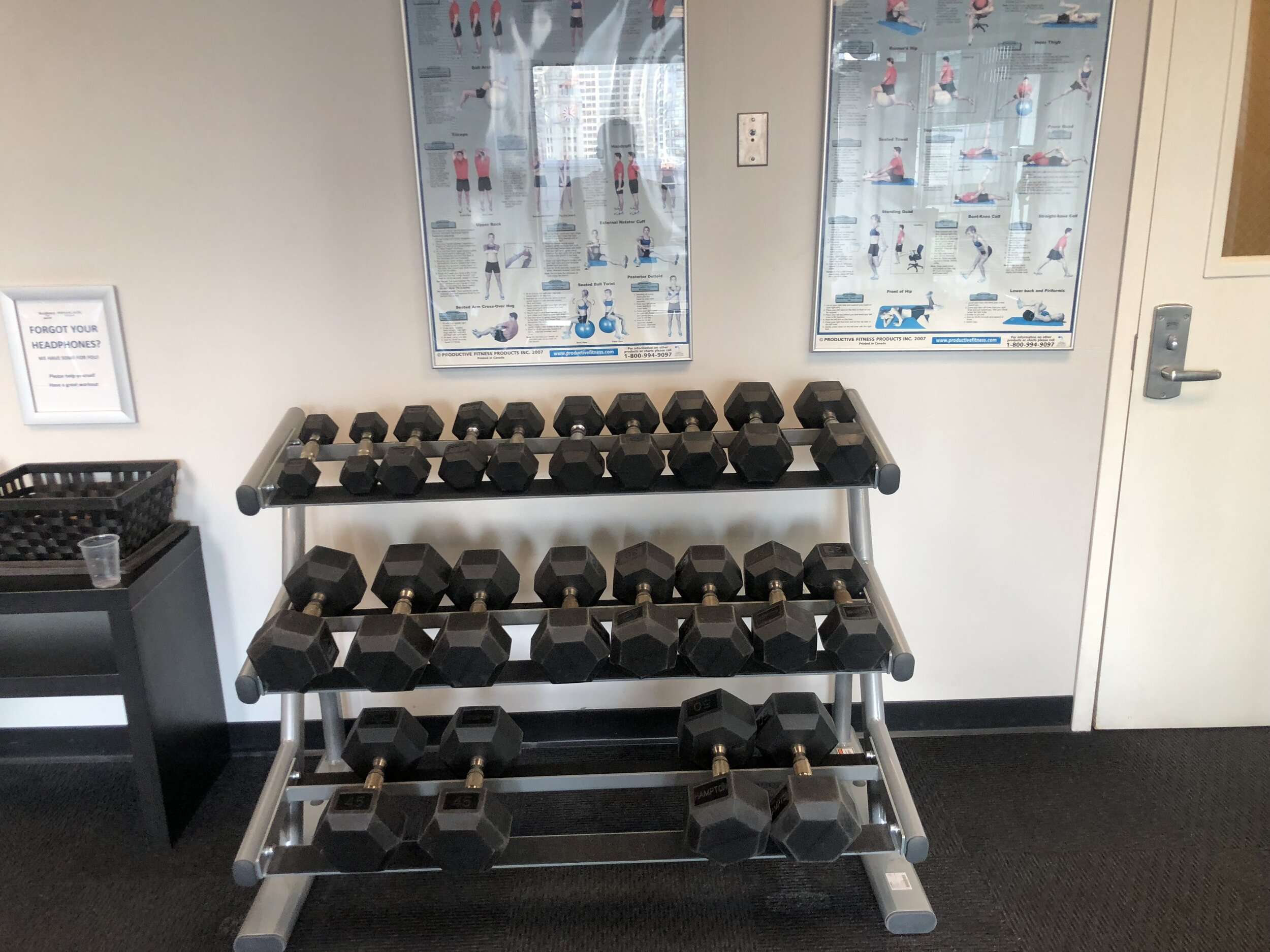 Limited free weights