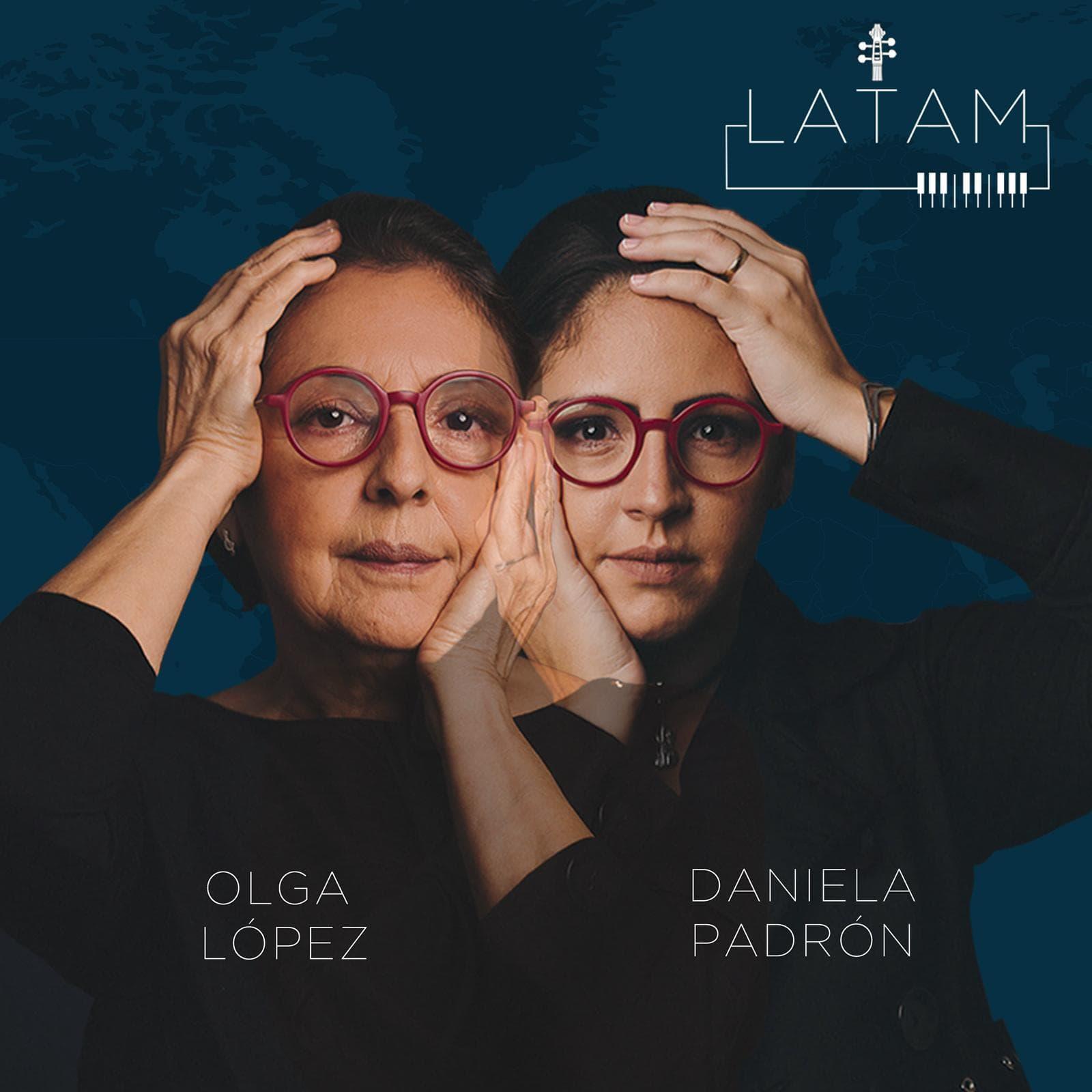 Album cover-Daniela & Olga LATAM