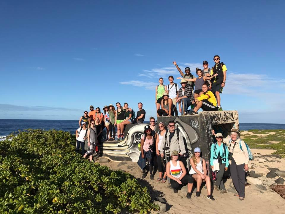 Semester at SeaSEMESTER AT SEA HAWAI'I 2017-2019: STUDENTS IMMERSED IN AN EDUCATIONAL HAWAII-BASED 1-DAY ITINERARY AT PORT. JOURNEYING TO Kaena Point Natural Area Reserve on the North Shore of O'ahu. A GLOBAL CLASSROOM AT SEA ALLOWS students to travel and grow with hands-on, experiential learning opportunities around the world, at every port. - global community