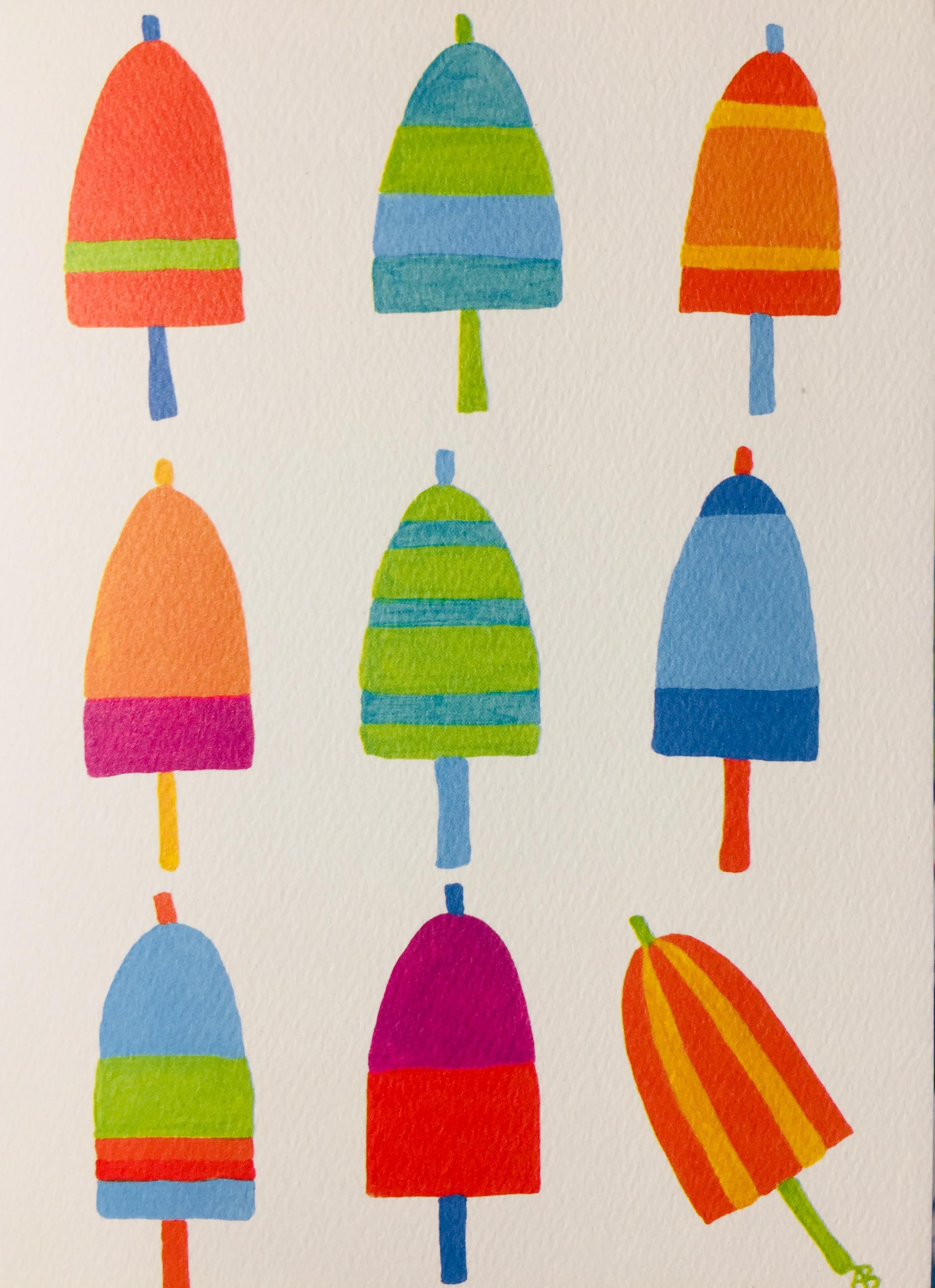 Festive Fish Buoy Card