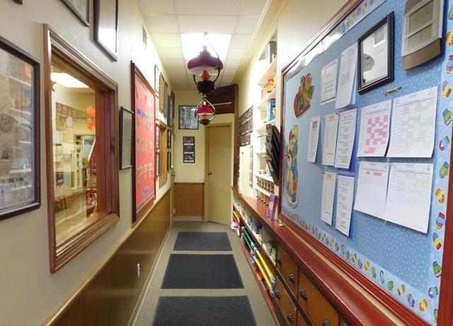 Pre-k 3's entryway