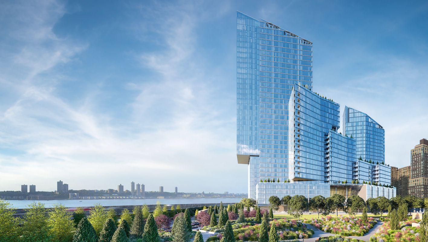 这是2号楼,是三座楼盘当中最大的一座,由Kohn Pedersen 设计,由于住户多,所以持有成本极低,此楼每个月物业费仅仅$1.5/每平方英尺,性价比非常高!
