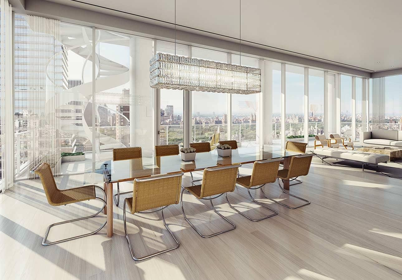 顶层客厅和饭厅
