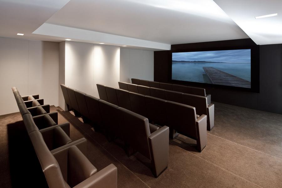 大楼自配的电影院