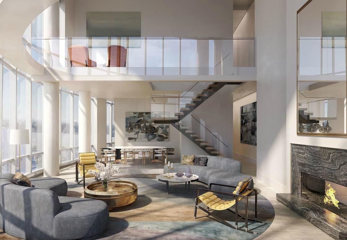 顶层 Penthouse 88B ,售价3200万美金。