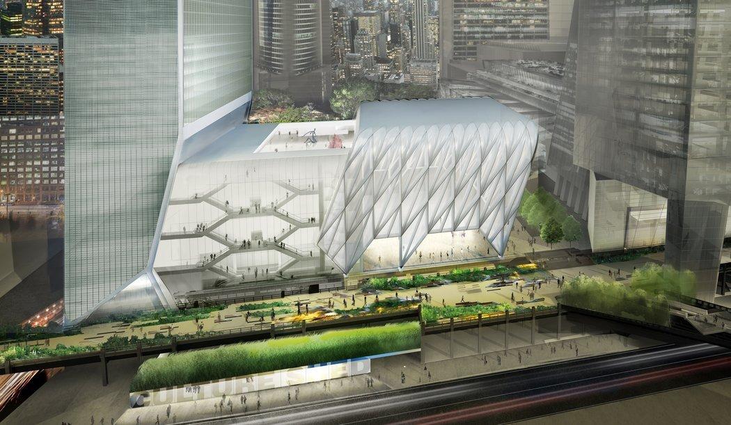 The Shed, 纽约时装周的未来固定举办场地。