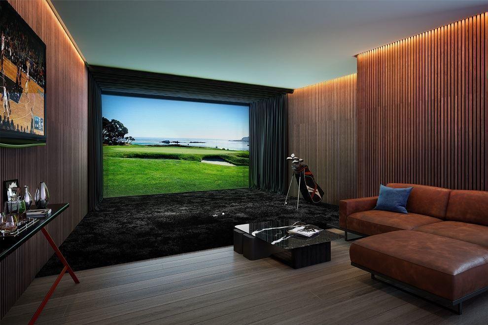 高尔夫模拟室