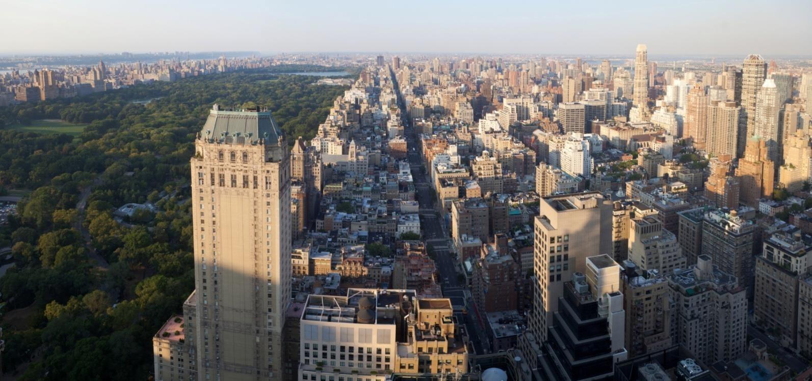 Upper East Side 上东区鸟瞰