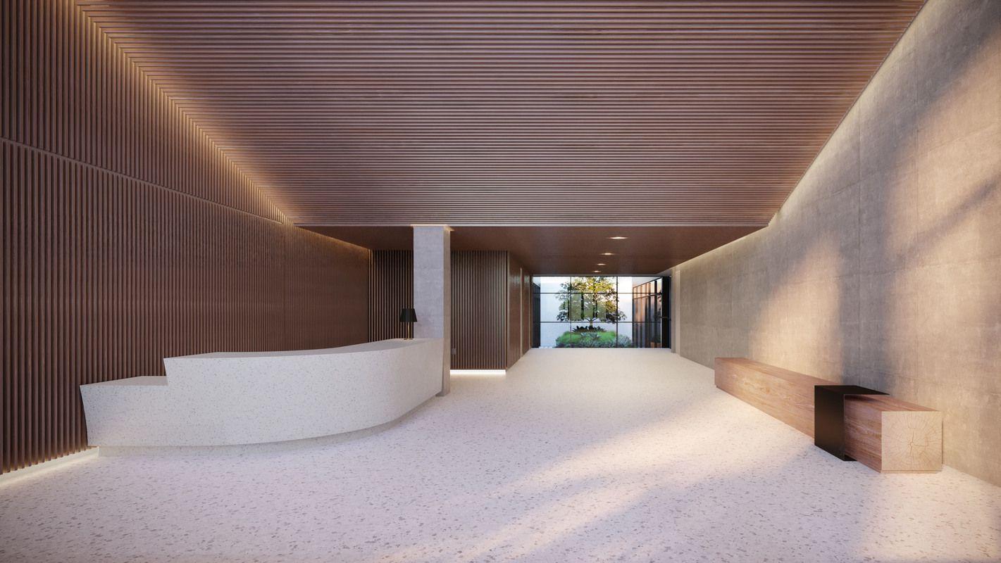 大楼的入口大厅