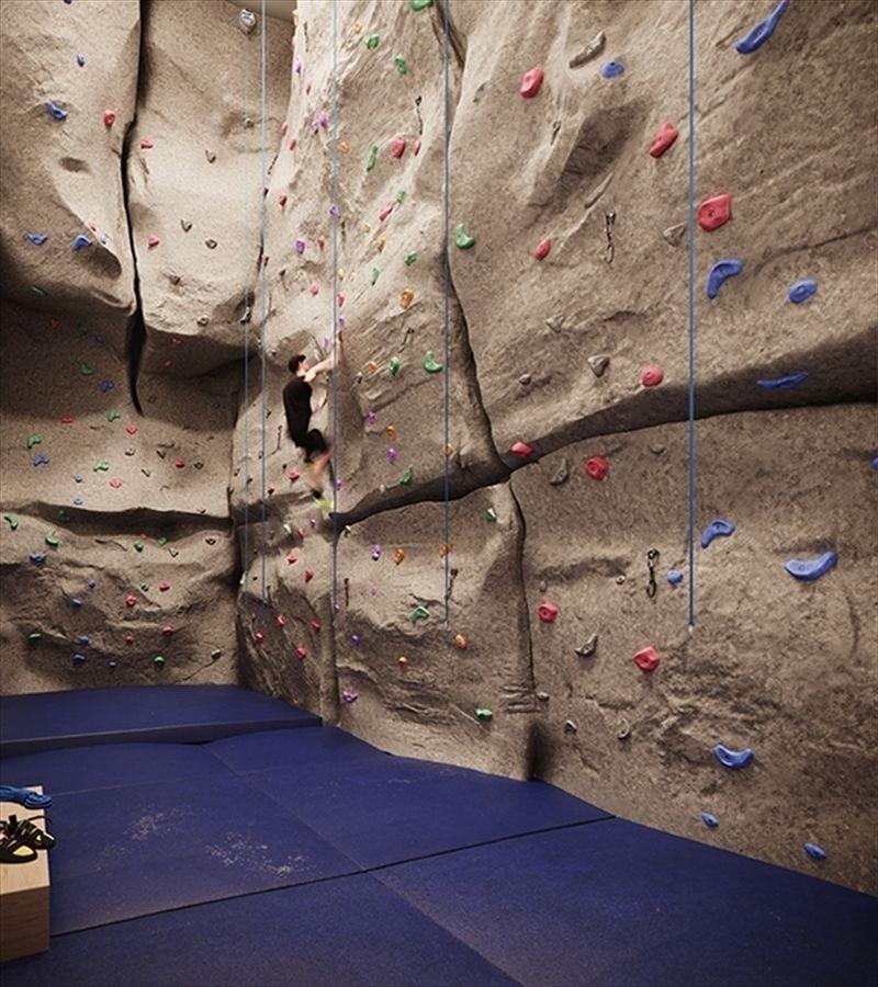 室内攀岩墙
