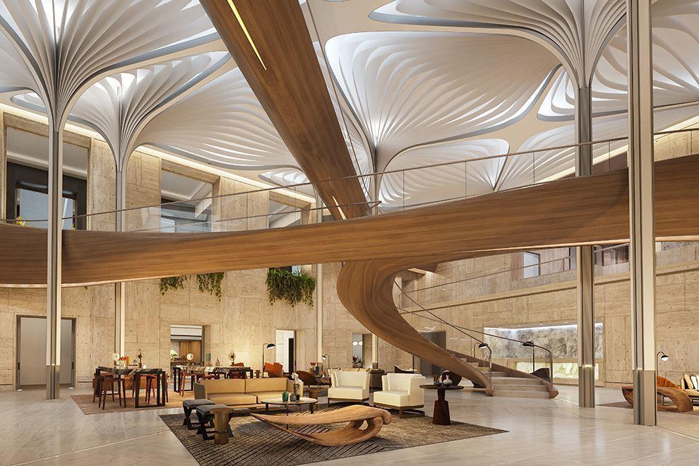 大楼地下3层的广大公共设施休闲会所