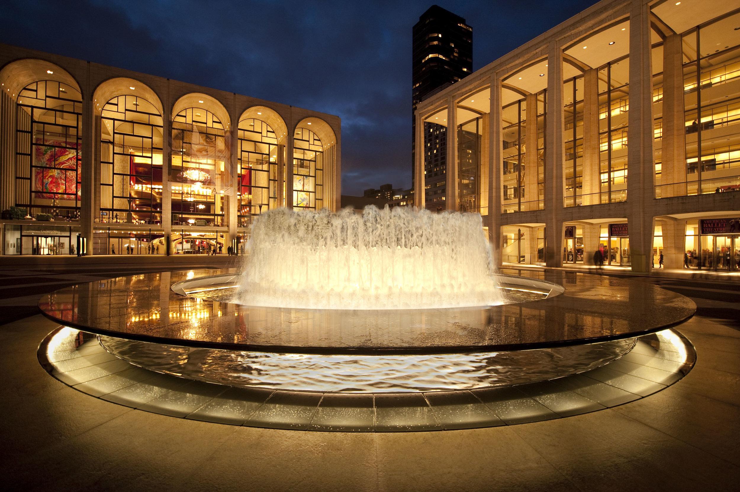林肯中心,全世界最大的艺术会场之一