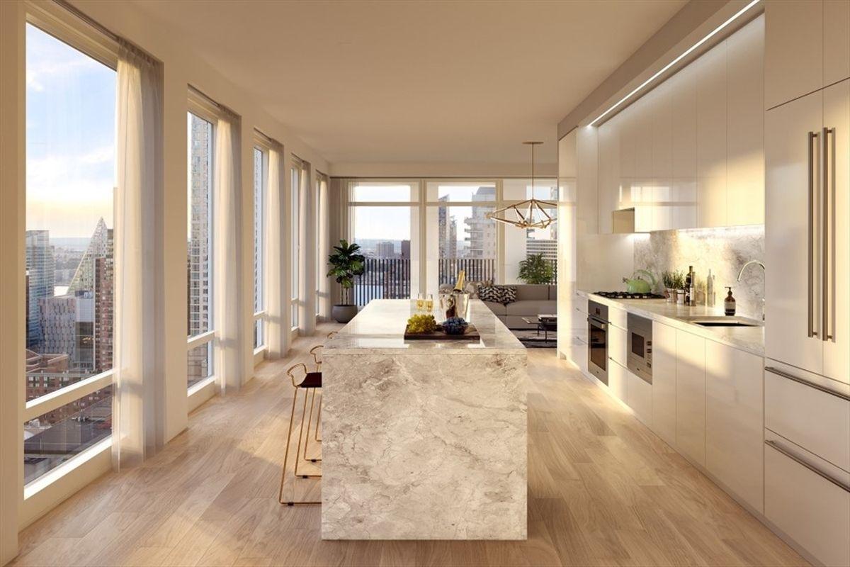 敞亮的厨房