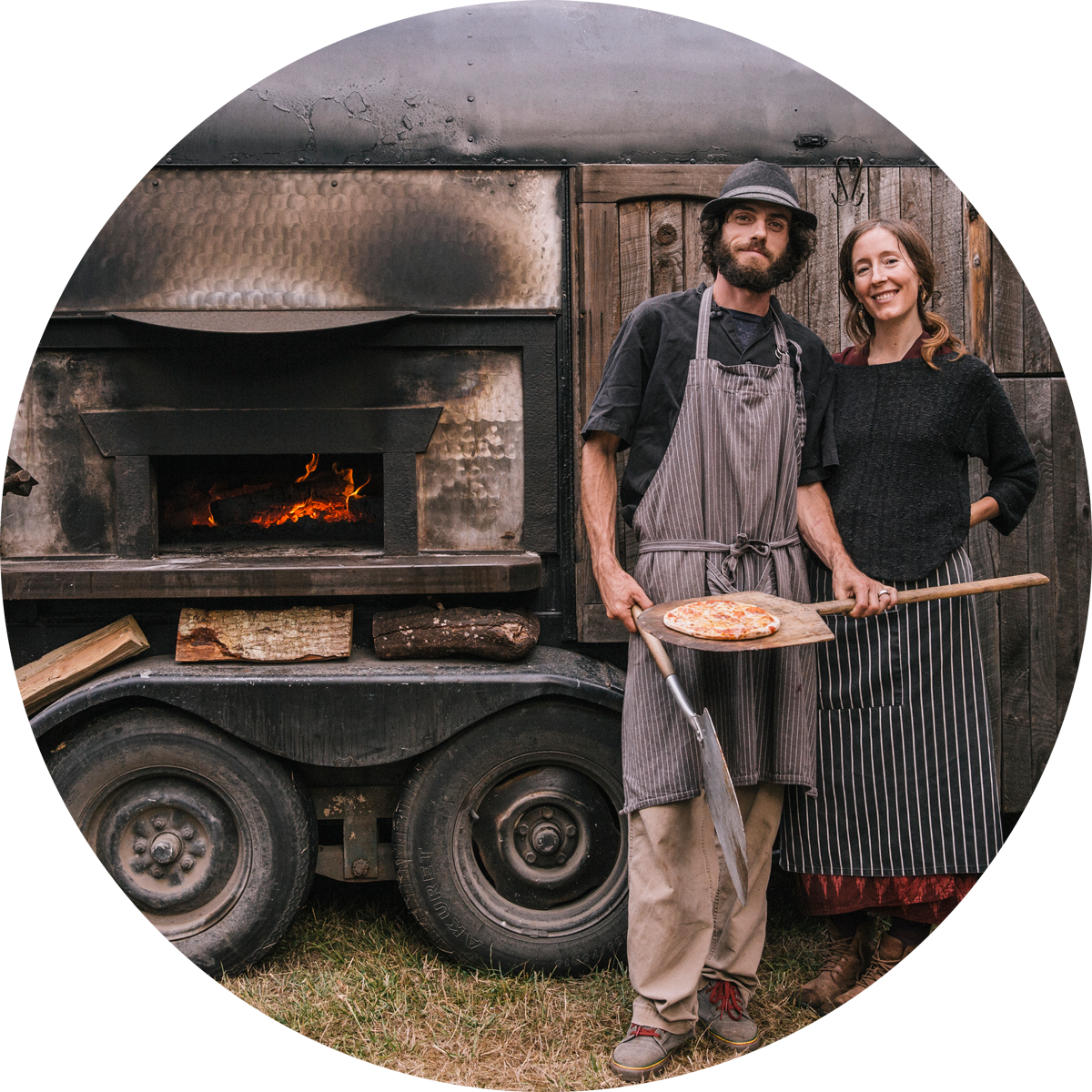 Soul Flour Bakery Owners, James Ferraris & Erica Ekrem; Photo by James Harnois.