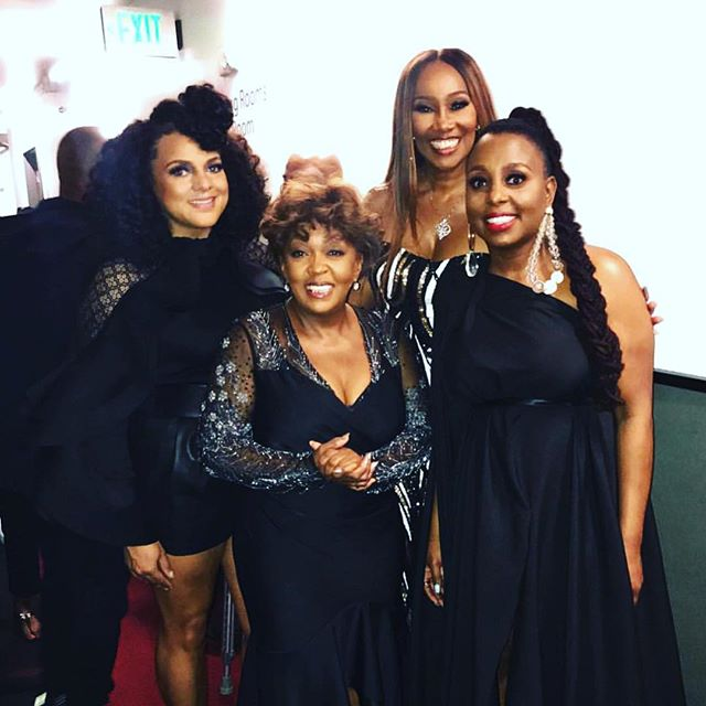 Anita Baker and the Ladies who sang in her tribute. Tomorrow I'll speak to Marsha Ambrosius and find out what was going through her mind while singing in front of the Songstress.