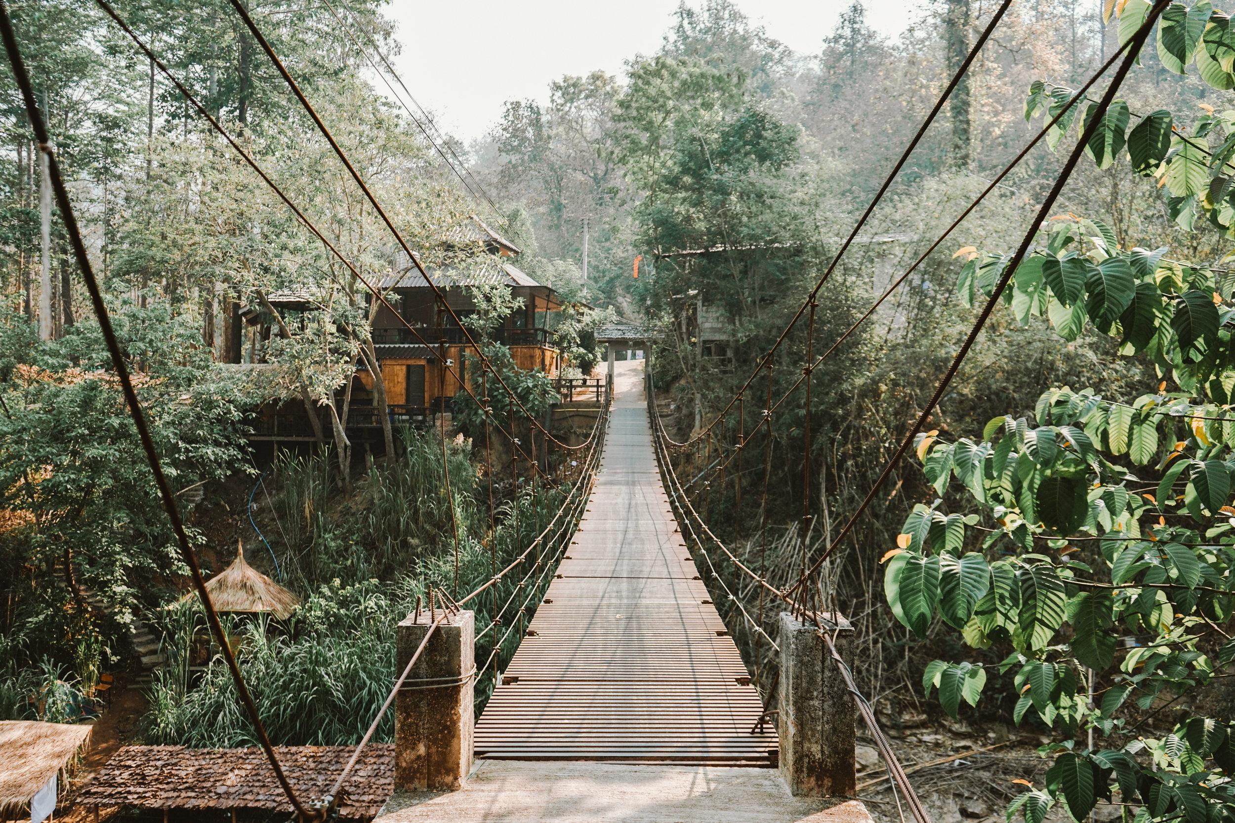 Bridge to Chai Lai Orchid