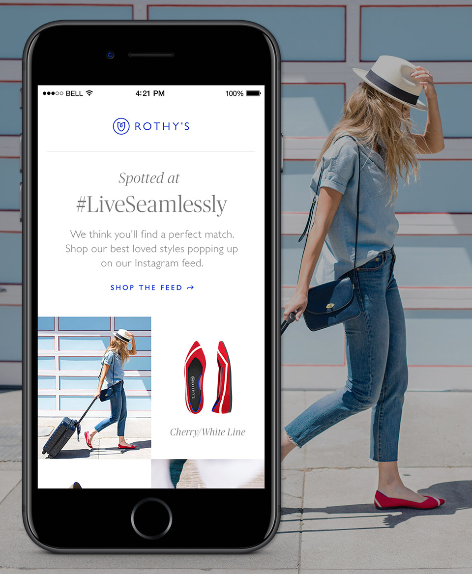 Rothy's: Revamping Styles for Mobile - I used existing frameworks at Rothy's to quickly transform a beautiful brand guide into mobile-friendly templates to better support the customer experience, as well as create efficiency in workflow while keeping projects moving.