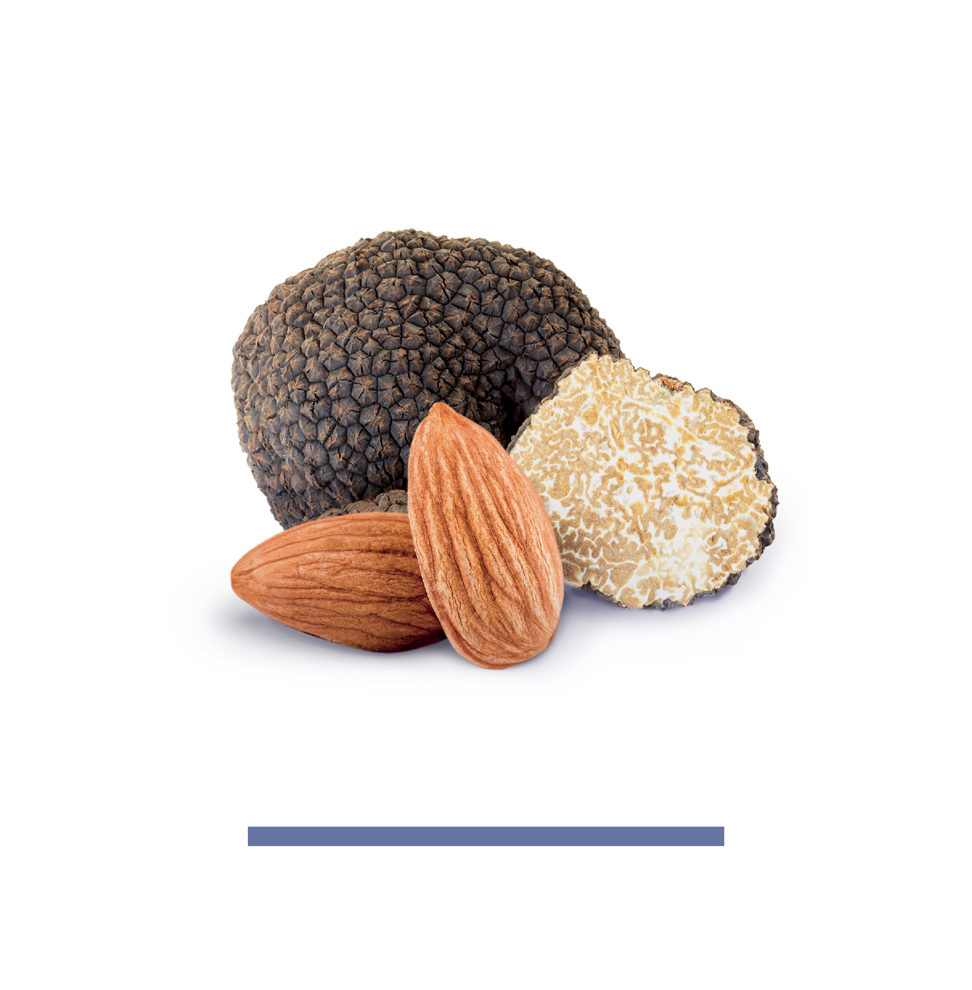 Black Truffle - ALMONDS, SEA SALT, BLACK TRUFFLENot some synthetically enhanced flavor or oil cooked up in a lab. We use real Italian Winter Black Truffles and you can tasted the difference.