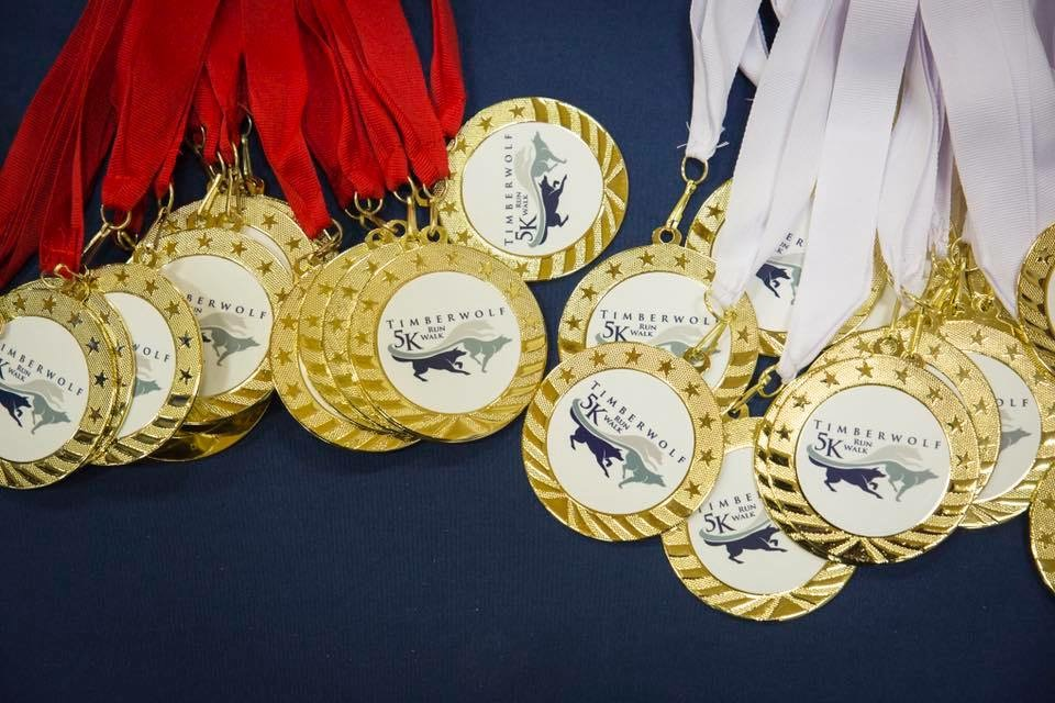 Awards - 5K winners will receive a trophy. 2nd- and 3rd-place finishers in each 5K age division will receive commemorative medals. All 5K youth finishers will receive a finisher's medal.