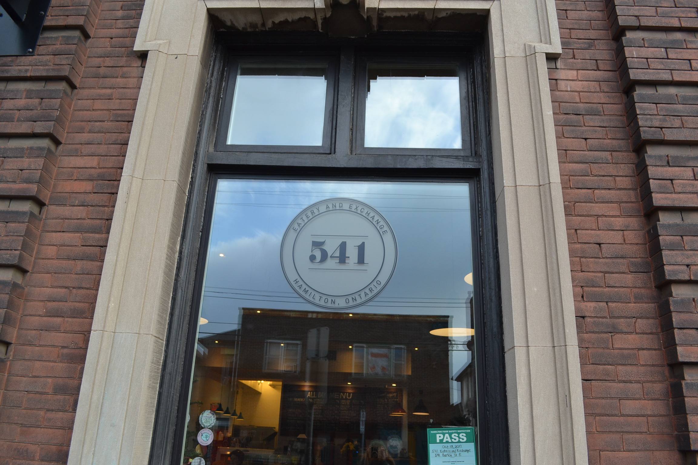 541 Eatery & Exchange  541 is a social enterprise seeking to address its neighbourhood's needs by providing affordable healthy meals.