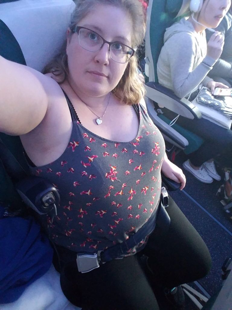Flying Aer Lingus while fat.