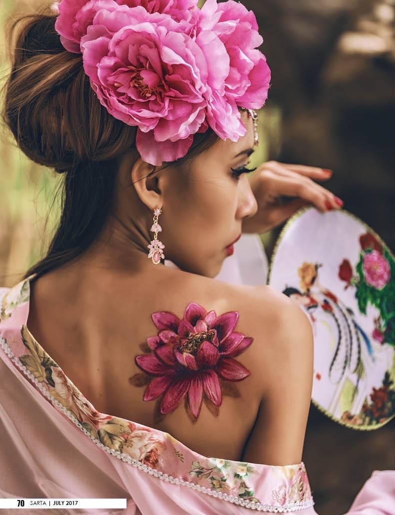 Model: Candice Yue Temporary Tattoo: INK Temporary Tattoos   Frederic Carrasco Make up & Hair: Kelly Bui & Candice Styles TEAM MDSProduction Randy Ordinario   Ayan Naldoza   Drew Fronda