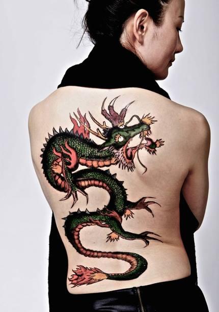 Photography: Jennifer Houghton Model: Cynthia  Temporary Tattoo: Frederic Carrasco