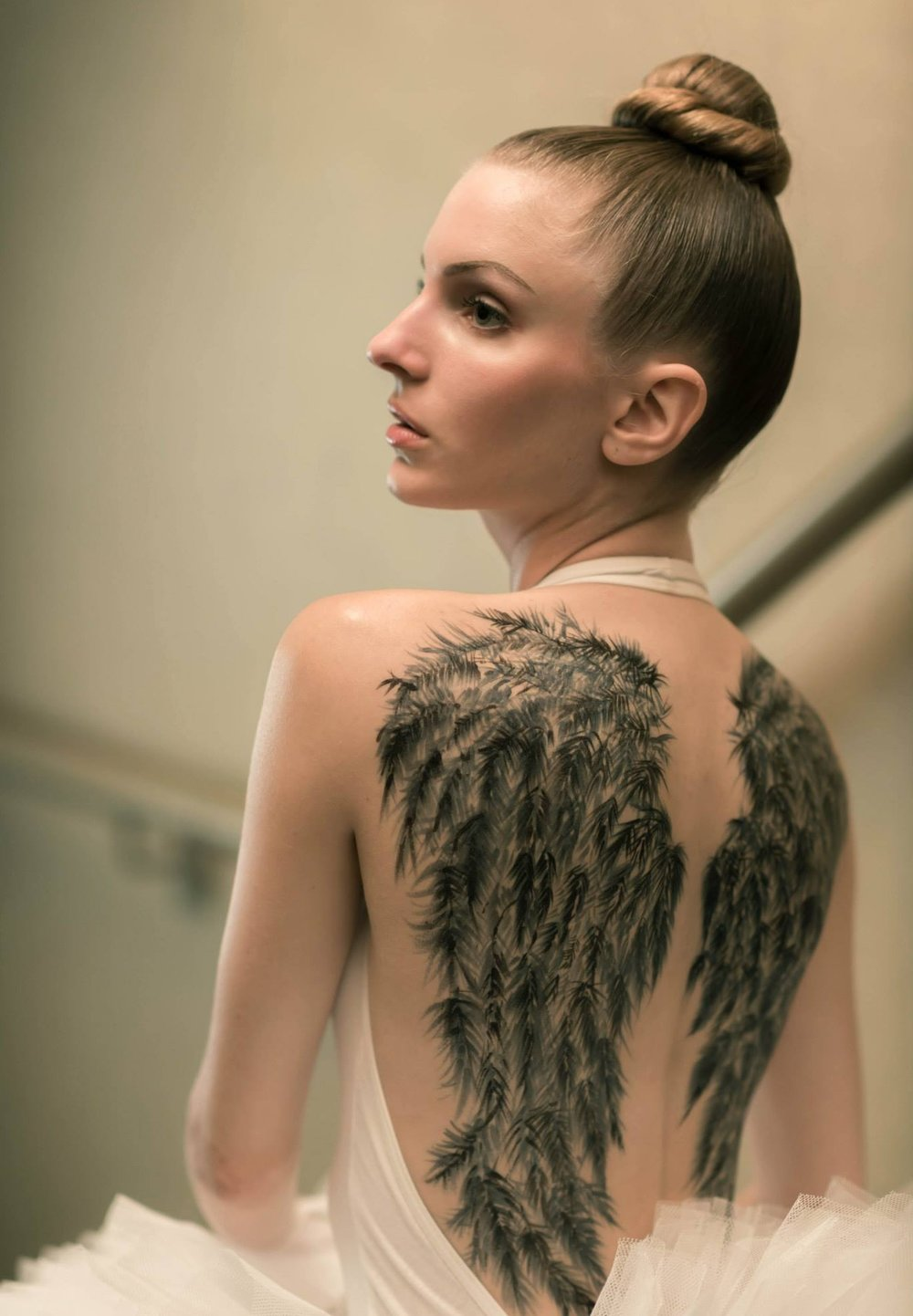 Model:Christie Halina Romanowski Make-up:Aurélie Badie Hair:Vu Hairstylist Nguyen Photography:Welbert Choi Temporary Tattoos:Frederic Carrasco