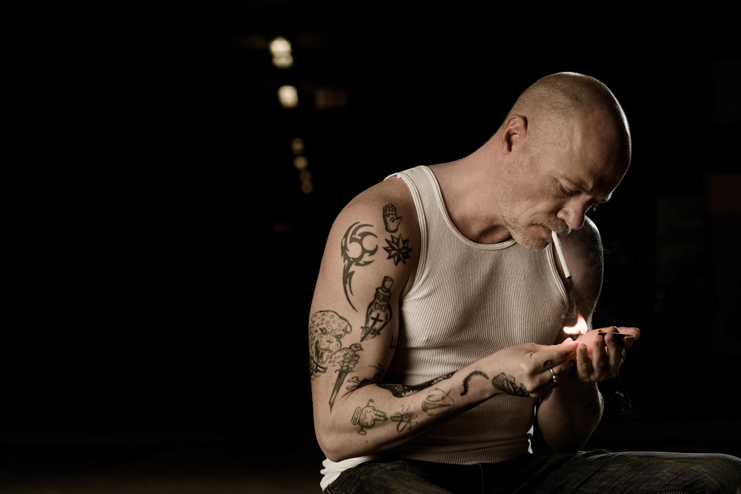 Photography: Welbert Choi Model/Actor: Leon Hanson Grooming: Elody Rivet Temporary Tattoos: Frederic Carrasco