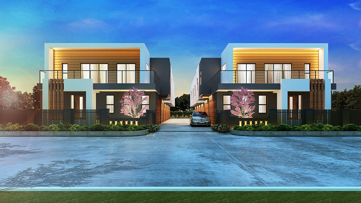 Copy of Copy of Wantirna Townhouses - 561 Boronia Road, Wantirna, Victoria, Aust