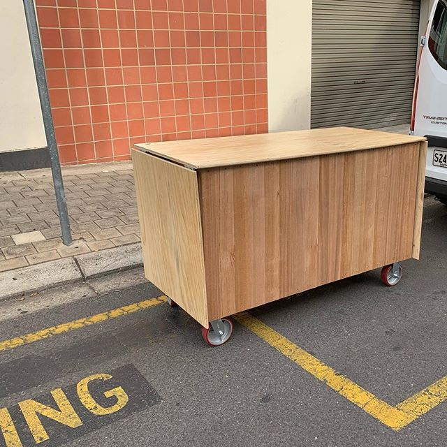 Delivery day for this little unit I put together - you'll see it all around the @universitysa city west campus