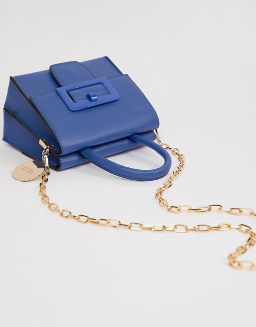 Faith Mini Buckle Cross Body Bag