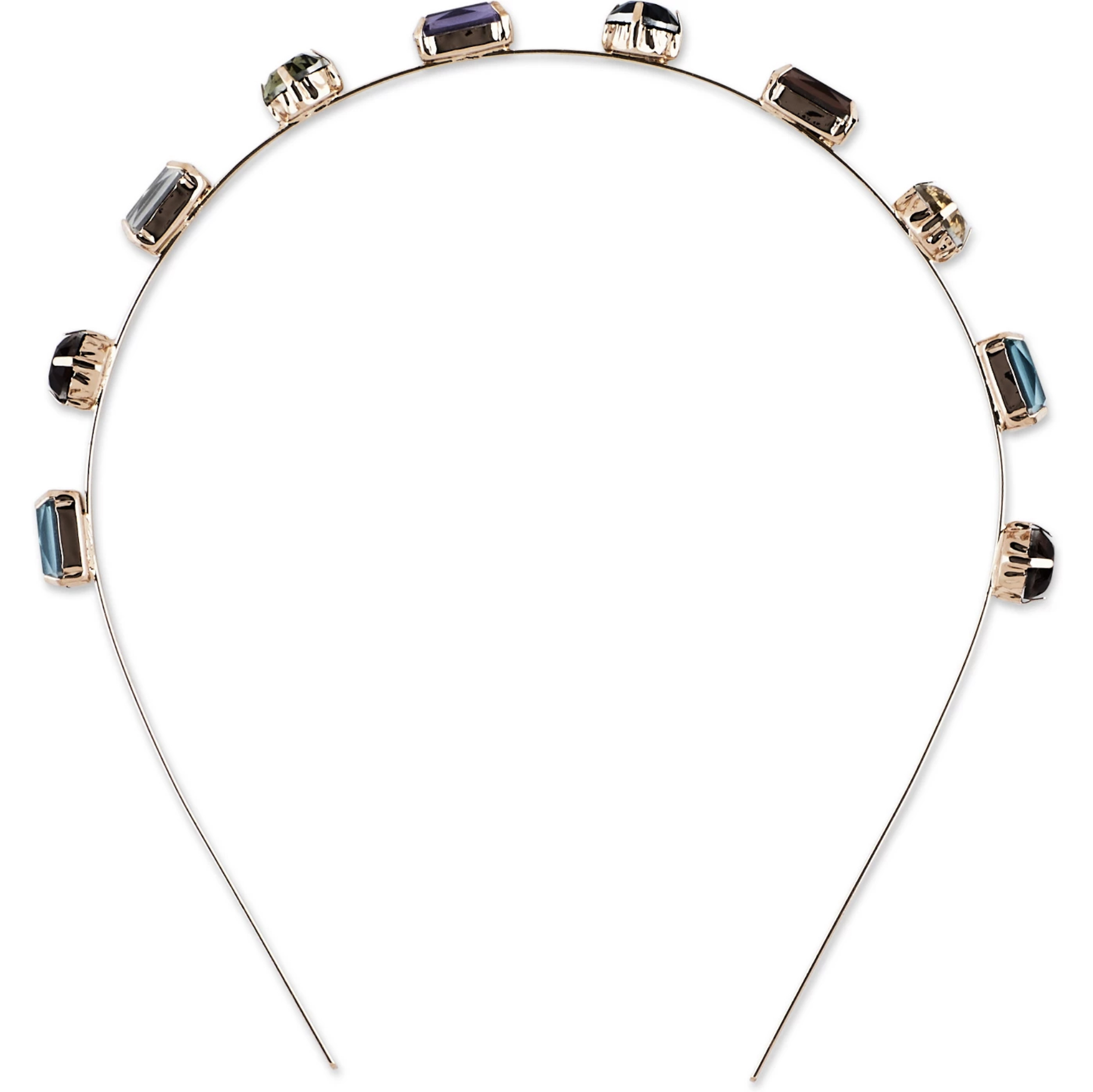 Sincerely Jules by Scünci Multi Stone Metal Headband -